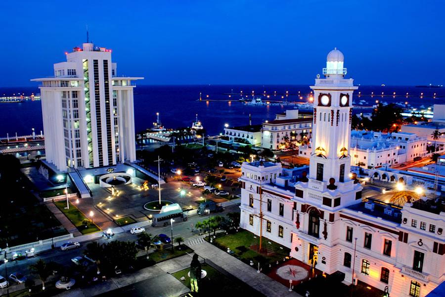 Bello puerto de Veracruz